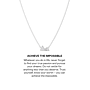 Achieve The Impossible Necklace