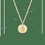 Fingerprint Coin Necklace