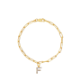 Charlotte Chain Letter Bracelet
