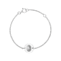 Mini Fingerprint Coin Bracelet