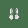 Grace Pearl Letter Earrings