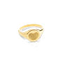 Fingerprint Signet Ring