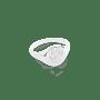 Paw Print Signet Ring