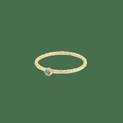 Birthstone Sparkle Ring