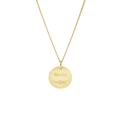 Signature Coin Necklace