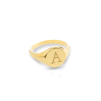 Initial Signet Ring​