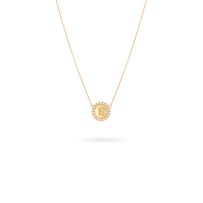 Sylvie Coin Necklace Gold