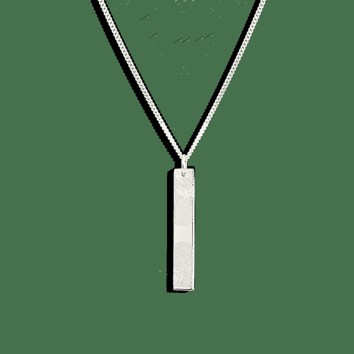 Benny Bar Fingerprint Necklace