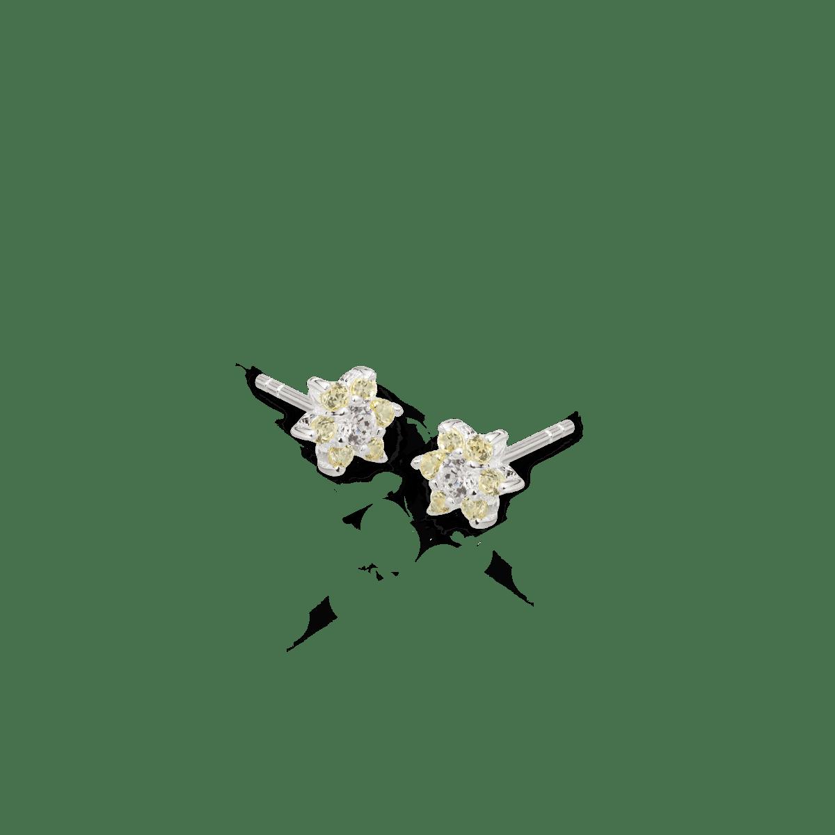 Flora Flower Birthstone Studs