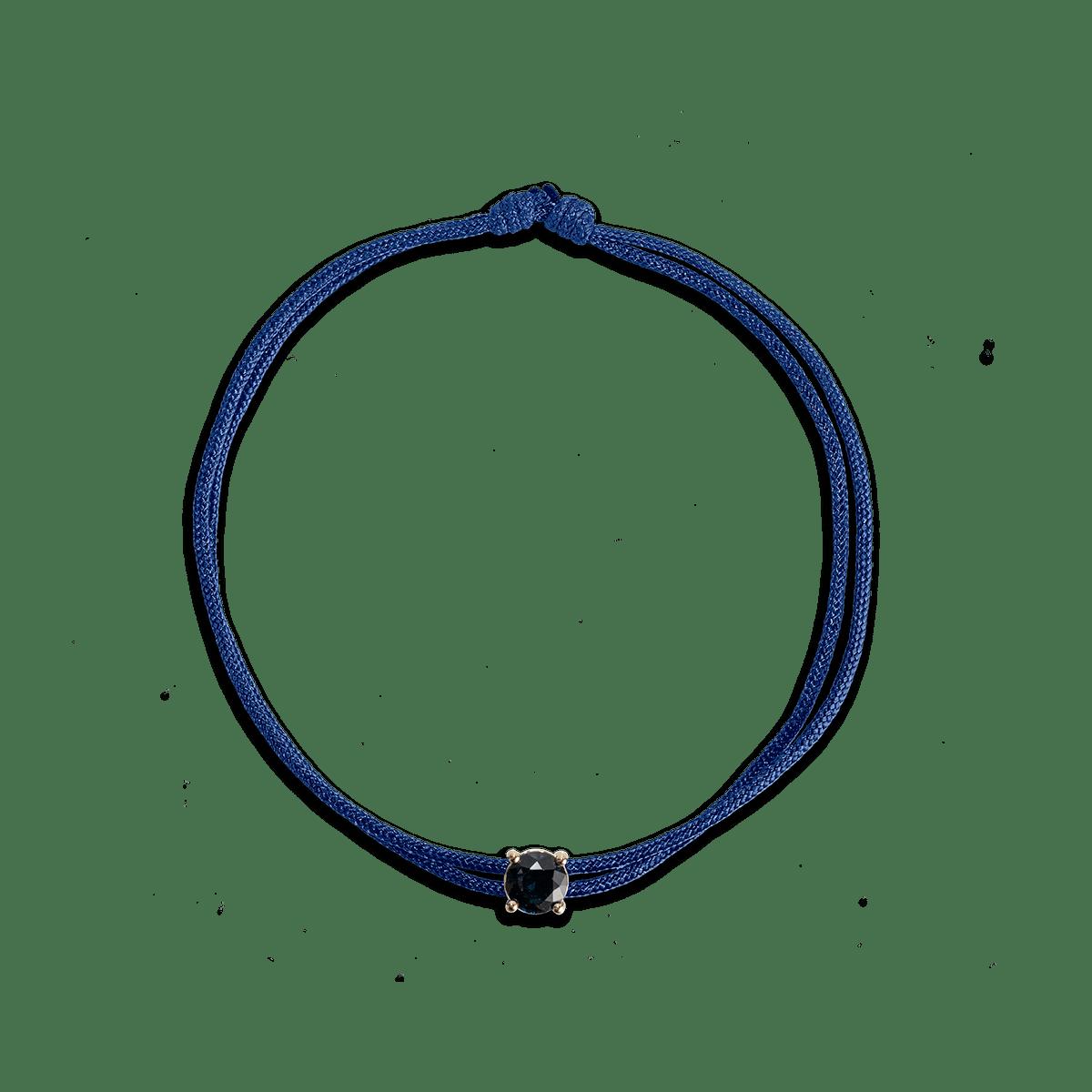 Bailee Birthstone Cord Bracelet