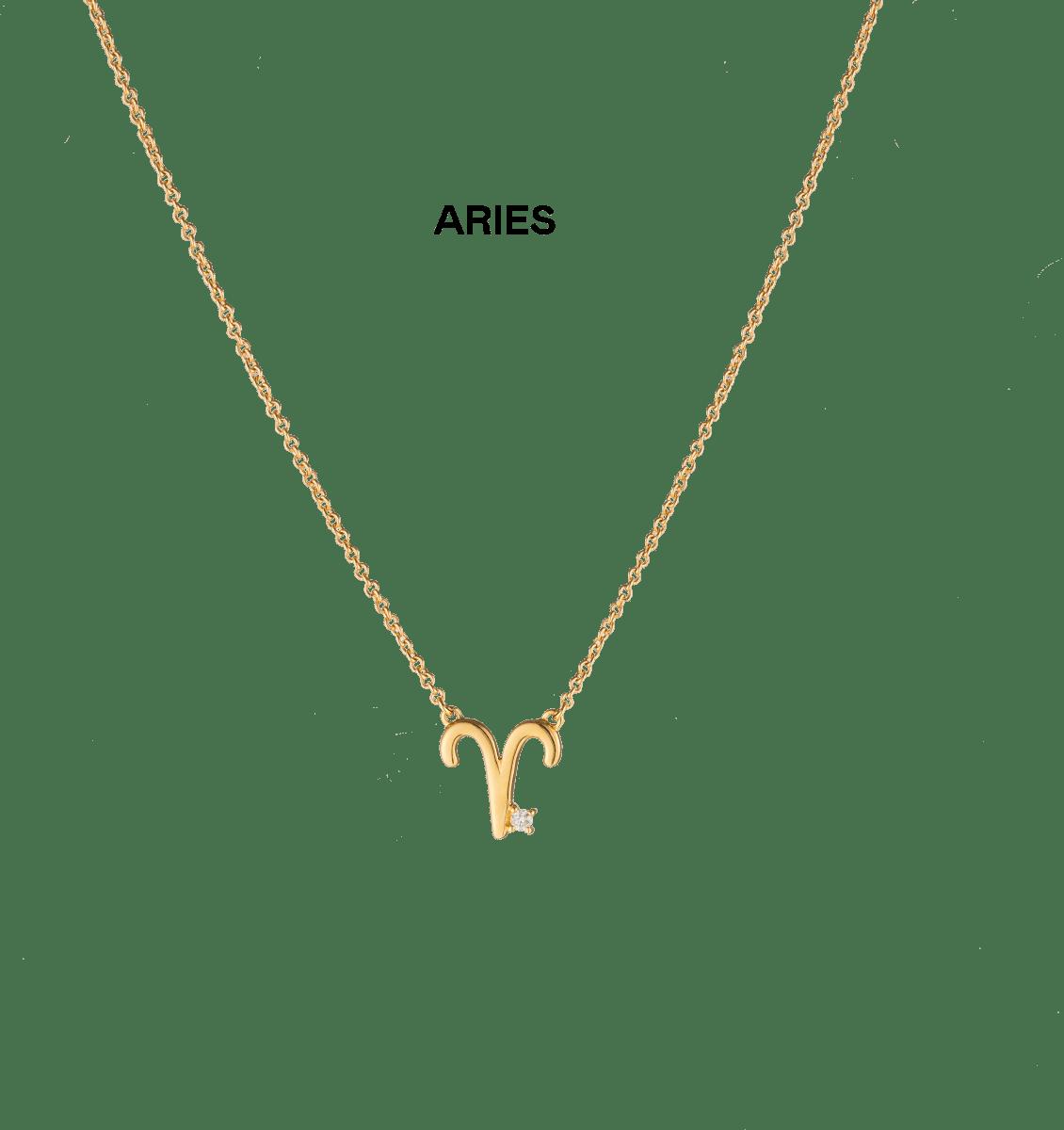 Zara Zodiac Diamond Necklace