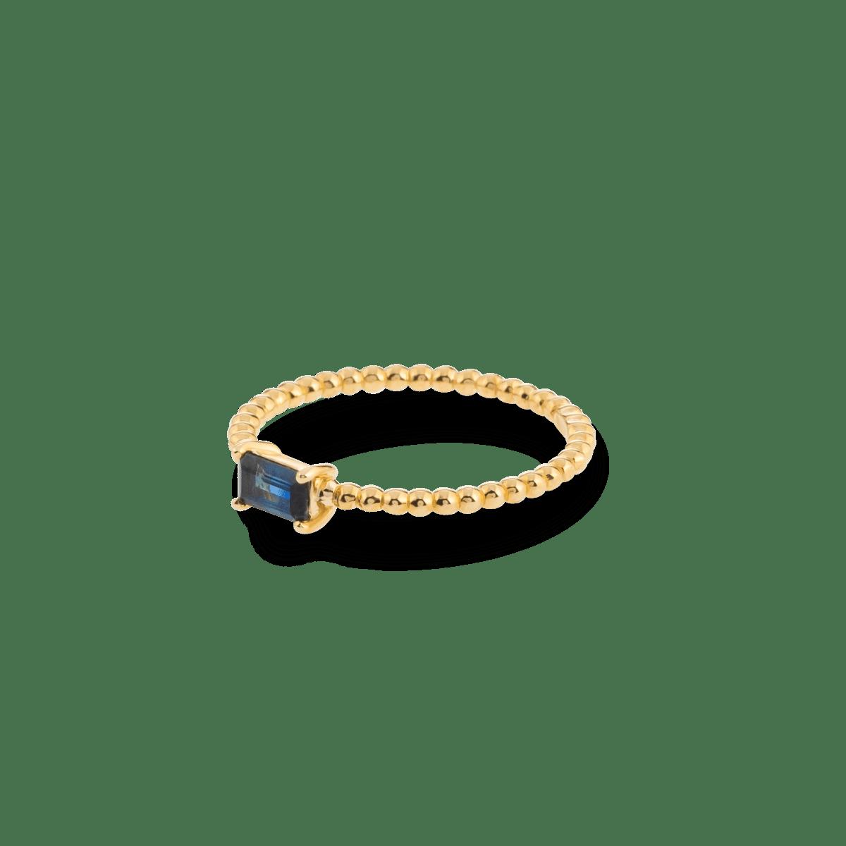 Bubble Birthstone Ring 9K gold june