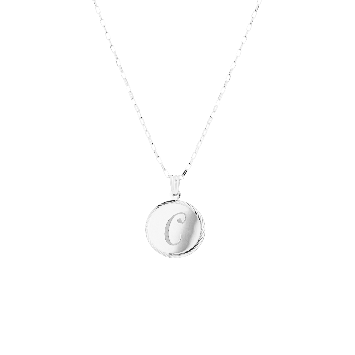 Initial Necklace by Chantal Janzen