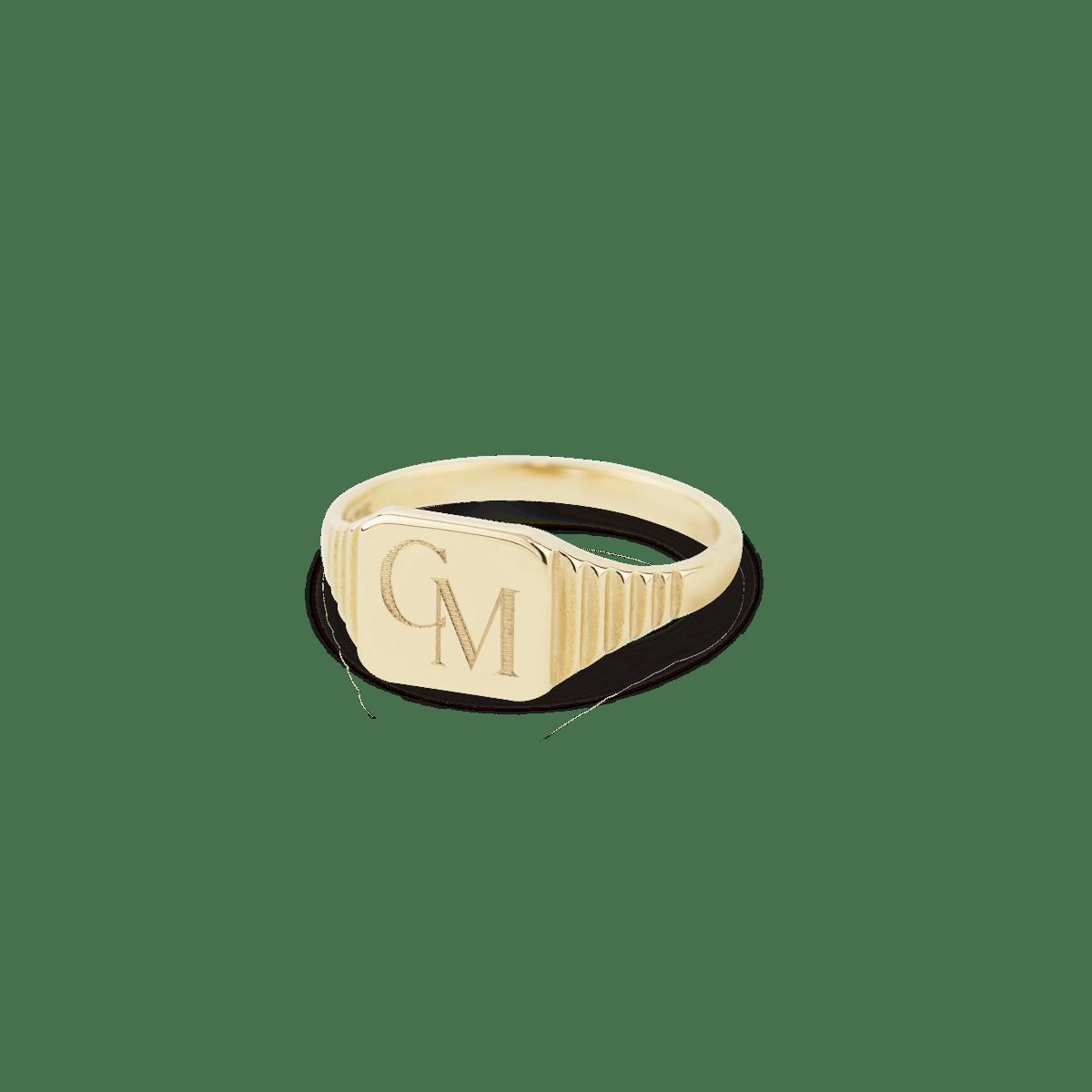 Chantal Pinky Ring Gold