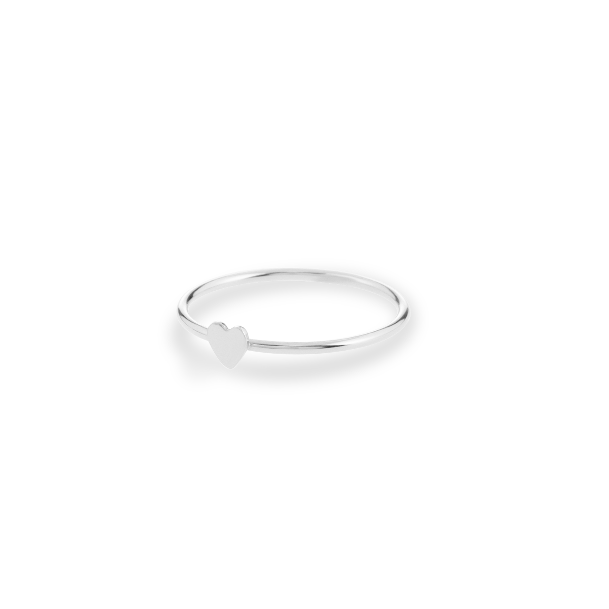 heart ring argent