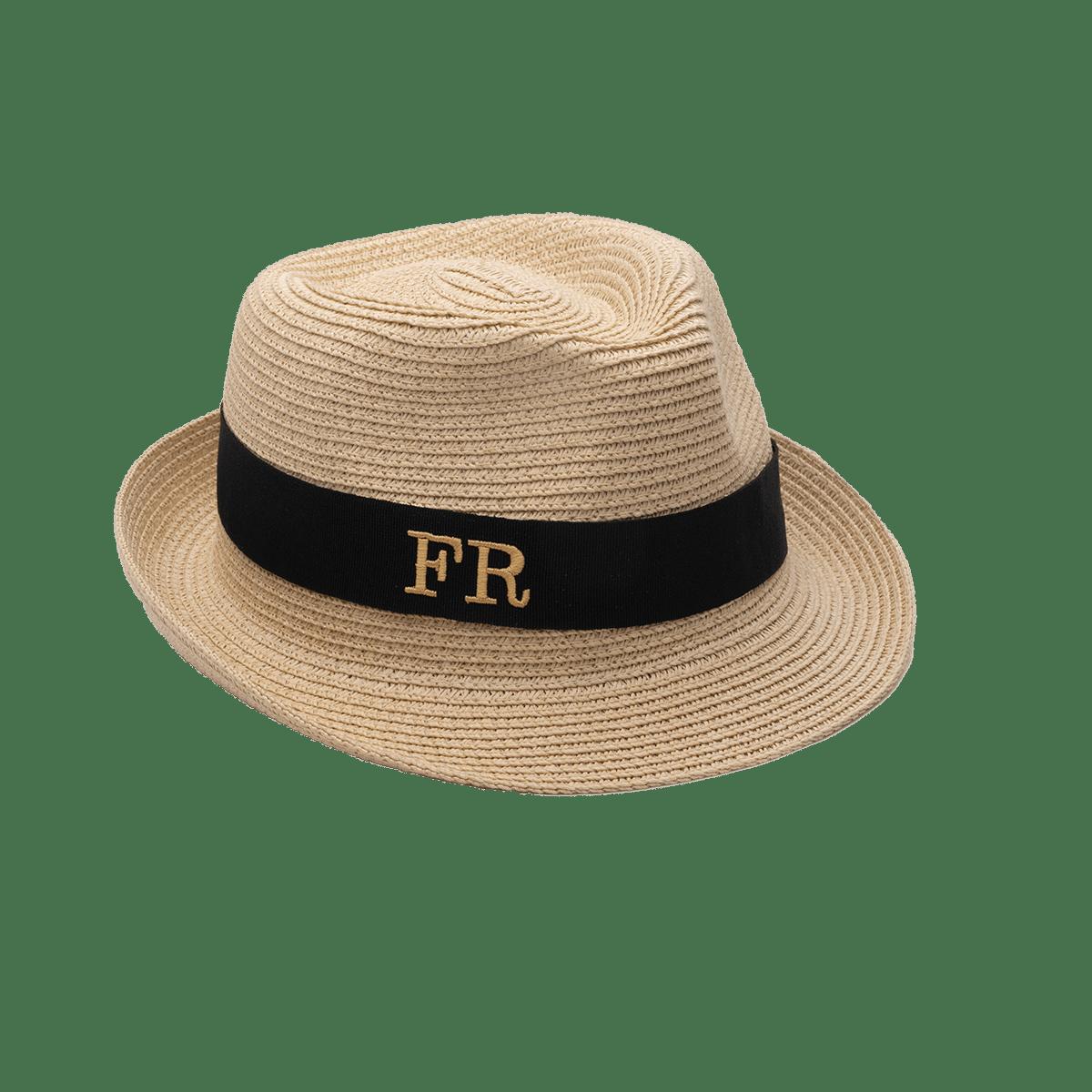 Mini Brigitte Monogram Straw Hat