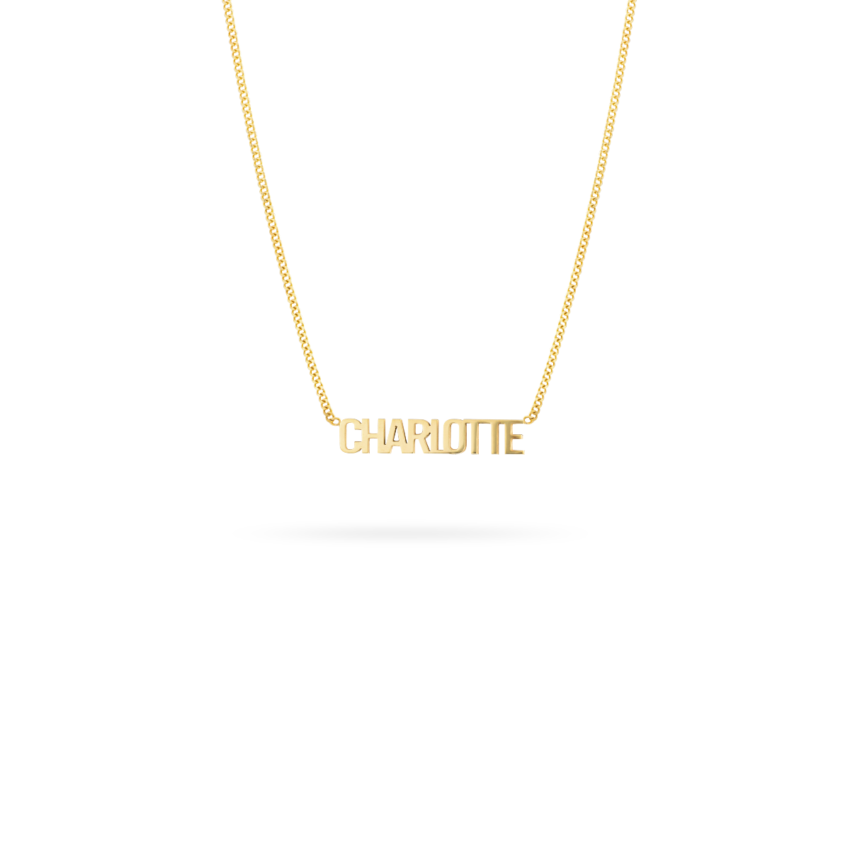 Name Necklace 14K