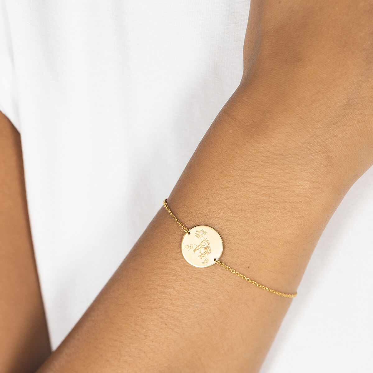 Signature Coin Bracelet