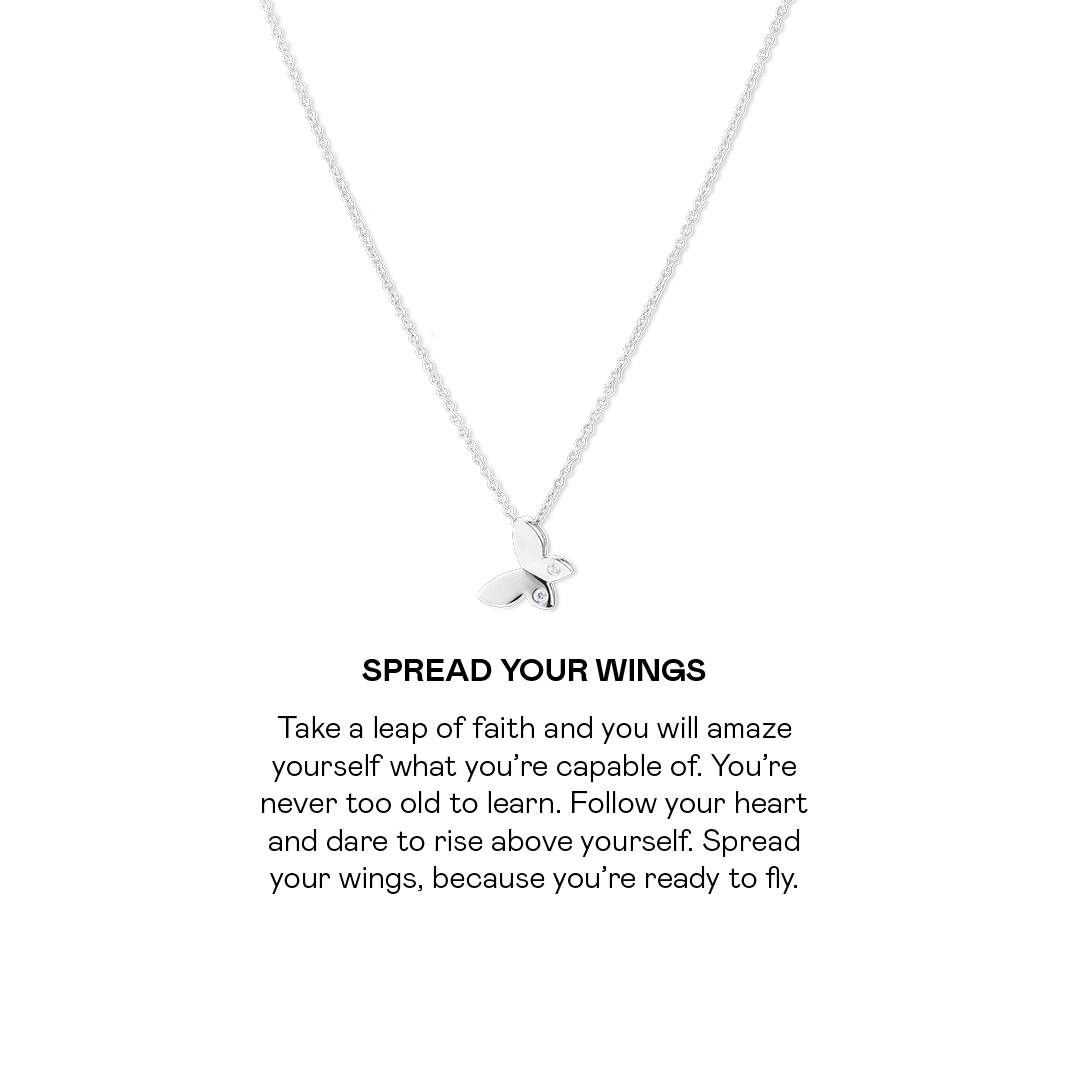 Spread Your Wings Necklace