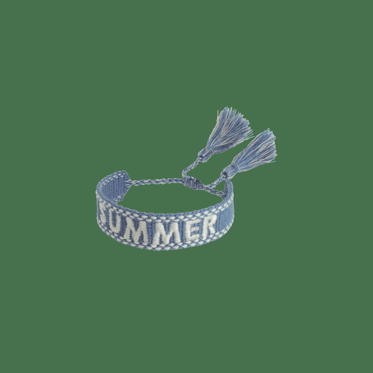 Mini Whitney Woven Name Bracelet