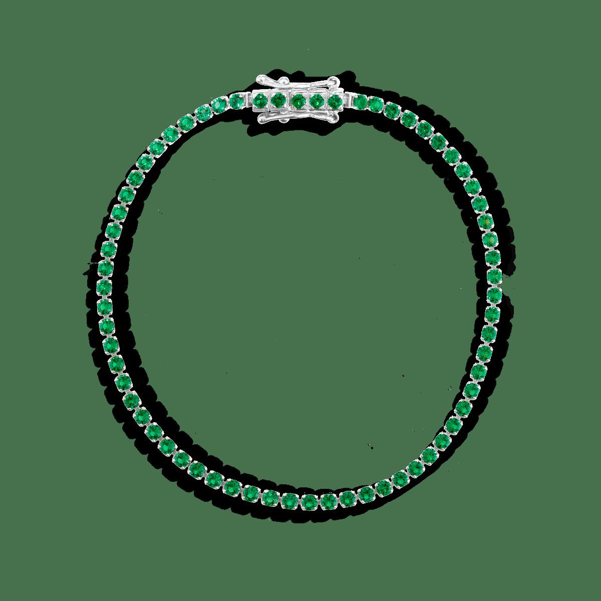 Diana Birthstone Tennis Bracelet