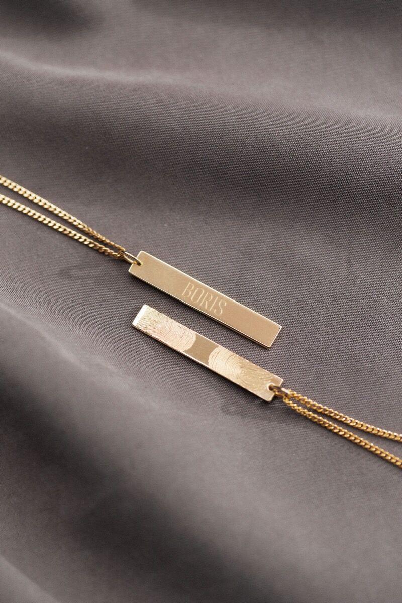 Pre-Order Benny Bar Signature Necklace