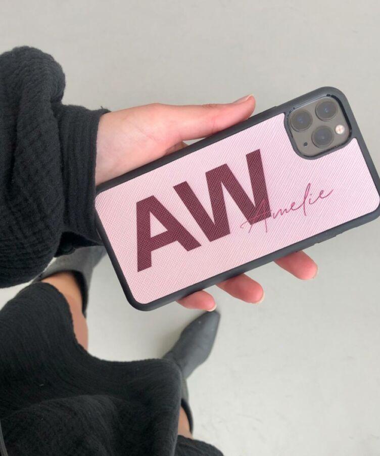 Maia Monogram iPhone Case