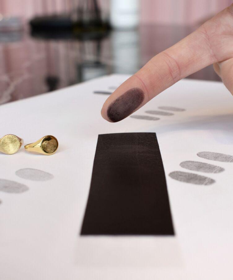 Do It Yourself Fingerprint Strip