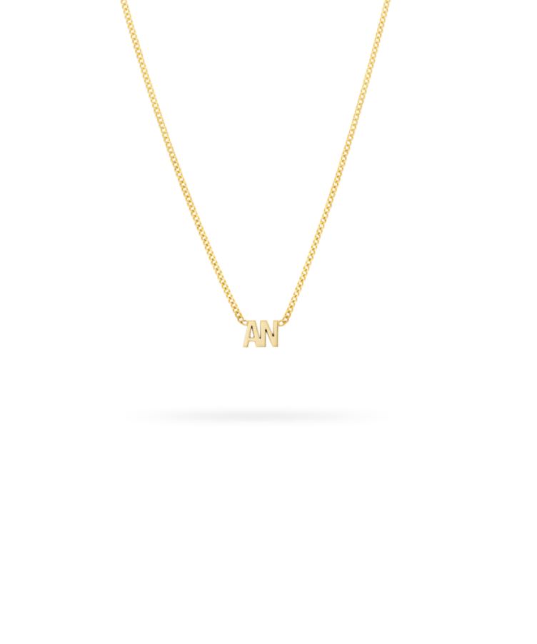 Coordinates Bar Necklace