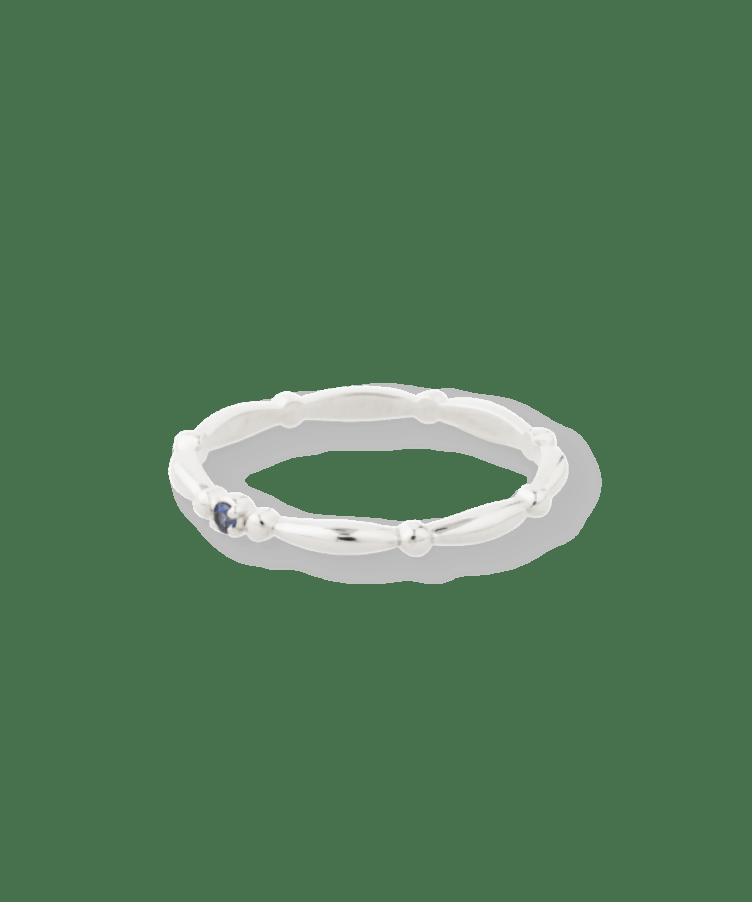 Royal Birthstone Ring-December - Tanzanite-925 Sterling Silver-19