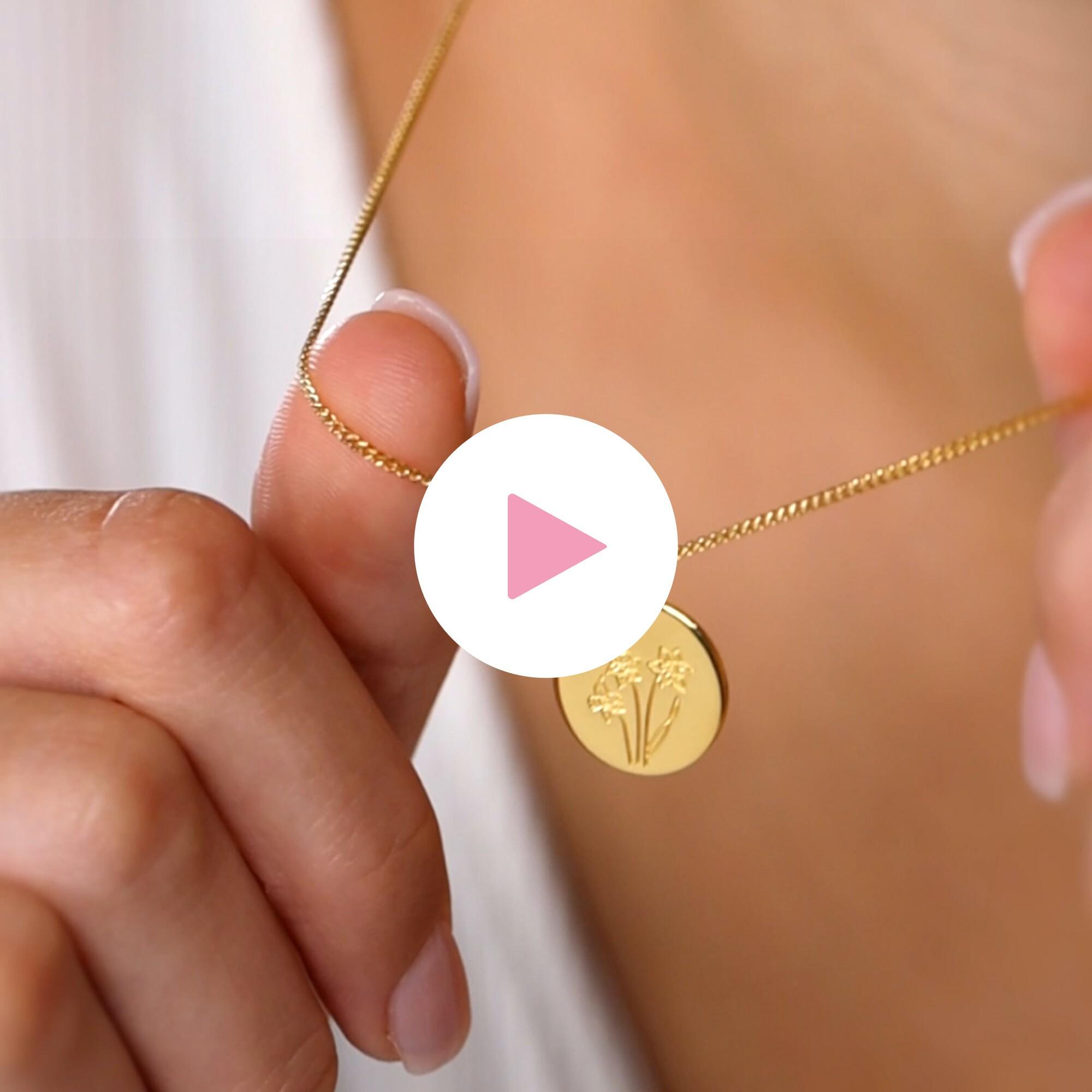 Birthflower Necklace