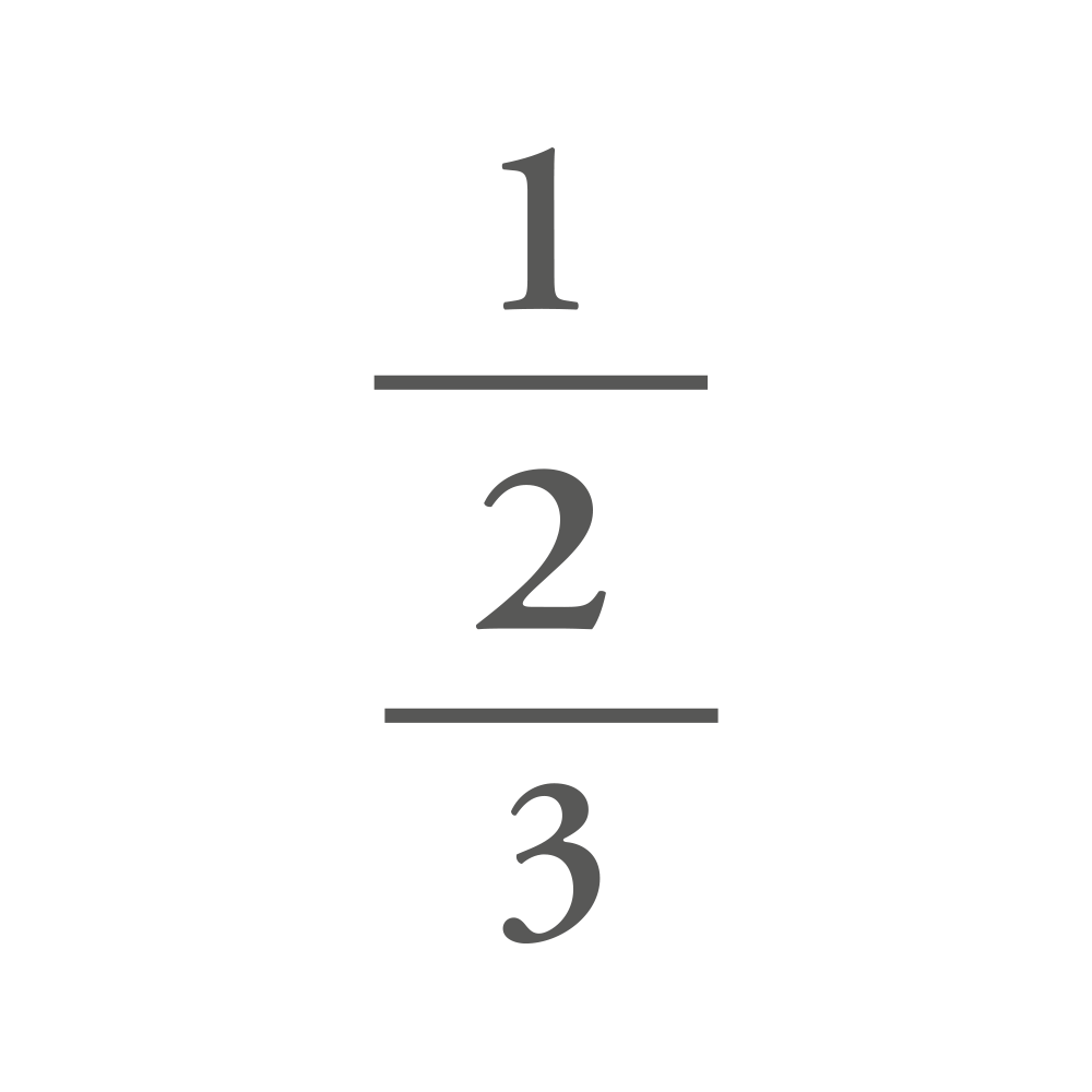 3 Initials